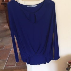 Stunning Royal Blue Michael Stars Blouse